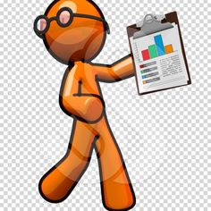 Illustration clipart recording data  Leo ClipArt Man Director