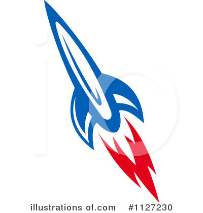 Illustration clipart rocket Stock Tradition (RF) SM by