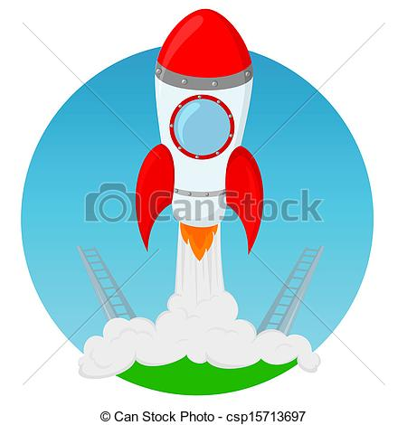 Illustration clipart rocket Of rocket collection EPS launch