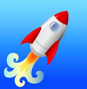 Illustration clipart rocket Ship art Rocket Clip art