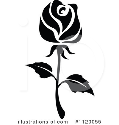 Illustration clipart rose By SM Royalty #1120055 (RF)