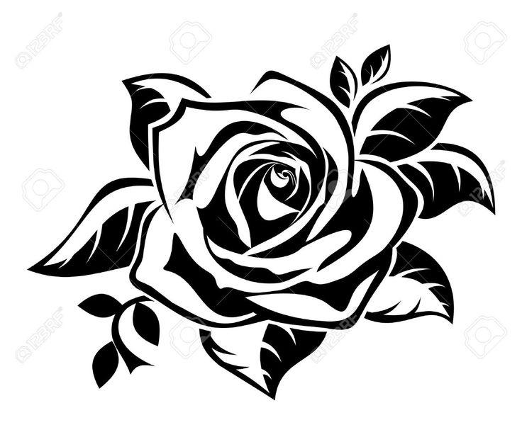 Illustration clipart rose Free Rose on Stock Rose