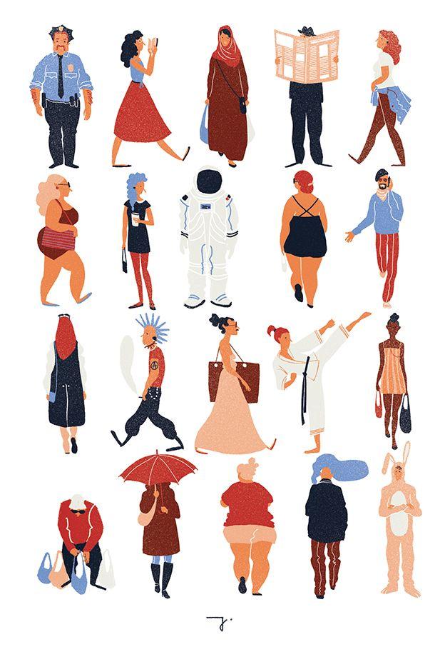 Illustration clipart serious person IllustrationsDesign illustration ideas Pinterest on
