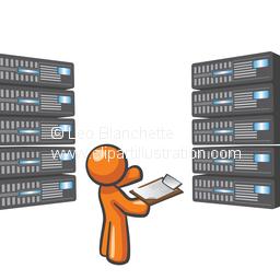 Illustration clipart server ClipArt Maintaining Illustration in Man