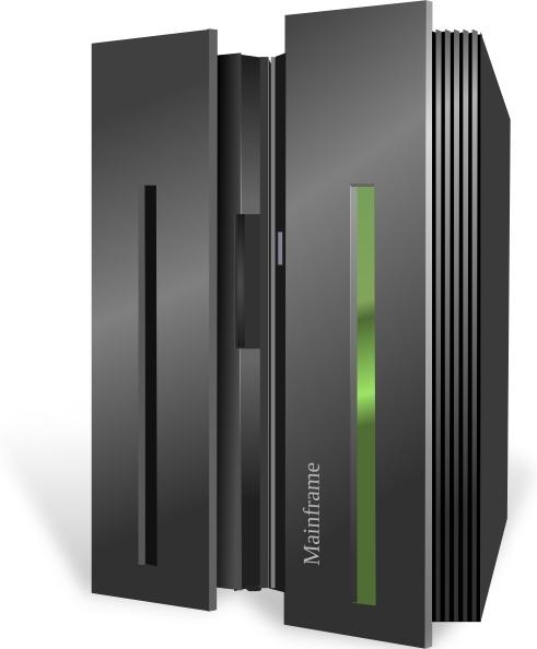 Illustration clipart server Mainframe Server Server drawing in