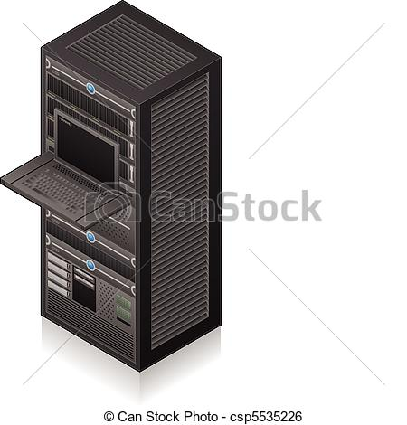 Illustration clipart server Server Vector Rack 3D Server