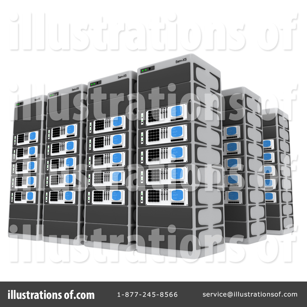 Illustration clipart server Royalty Illustration Free by Clipart