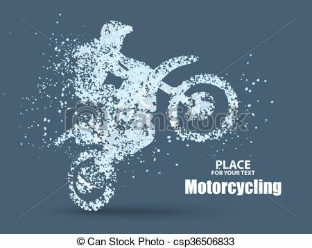 Illustration clipart significance Riders enterprising motorcycle of across