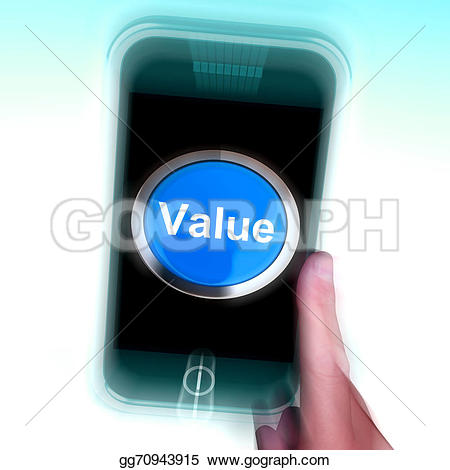 Illustration clipart significance On phone Value  Illustrations