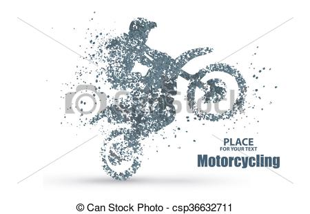 Illustration clipart significance Riders enterprising motorcycle Clip across
