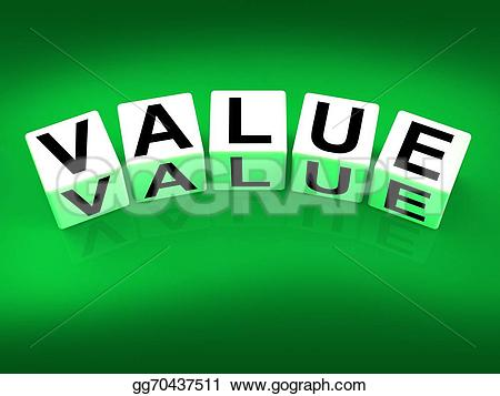 Illustration clipart significance Blocks importance Value Stock significance