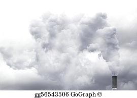 Illustration clipart smog Stock in GoGraph danger; City