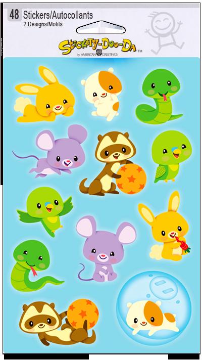 Illustration clipart sticker Pets art Illustration: Sticker Sheets