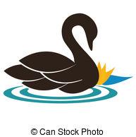 Illustration clipart swan Swan  the 758