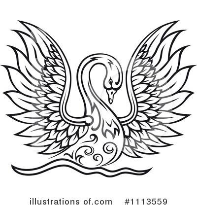 Illustration clipart swan Clipart Tradition Clipart Royalty Swan