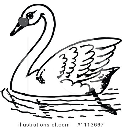 Bird clipart swan Swan by clip collection Clipart