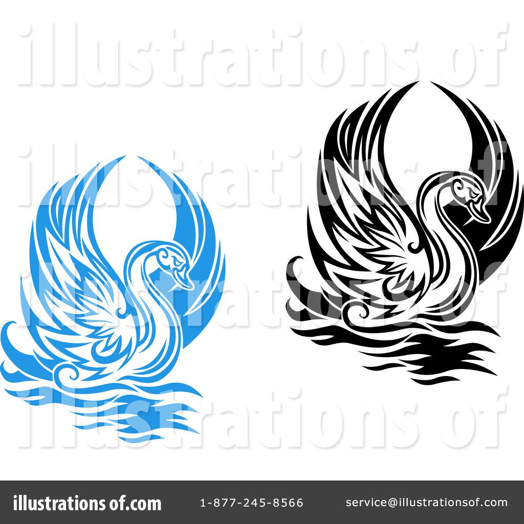 Illustration clipart swan Top Art Swan 92 54