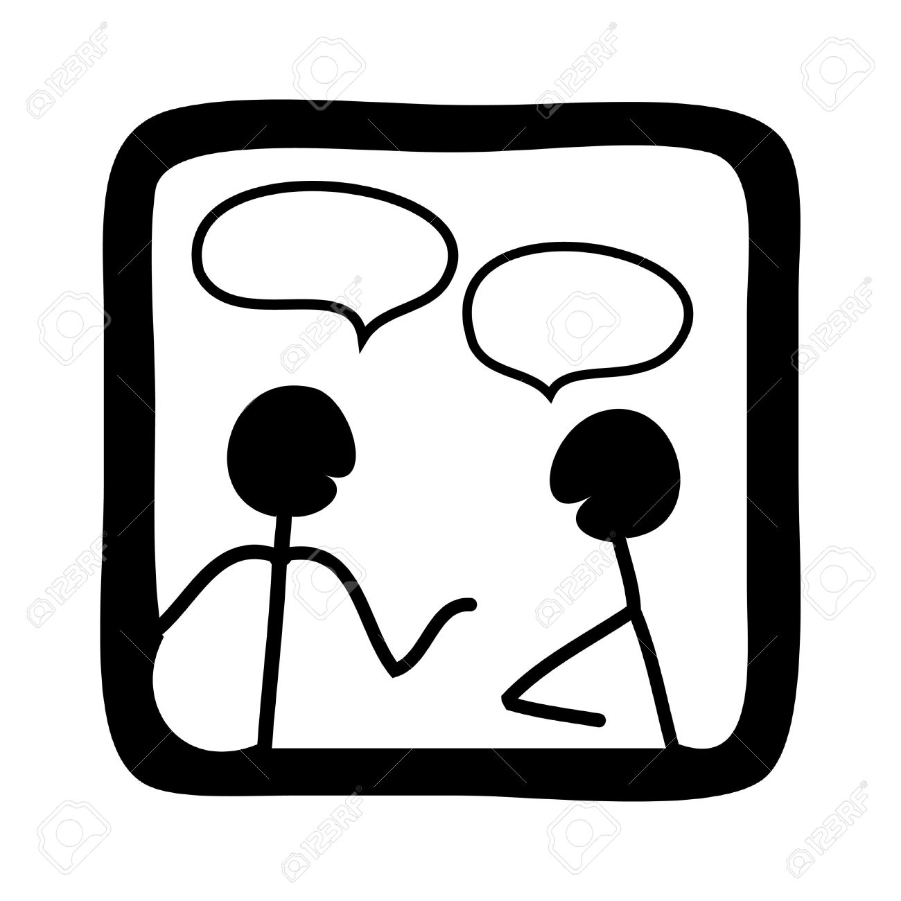 Illustration clipart talk partner Clipart clipart Clipart  Talking
