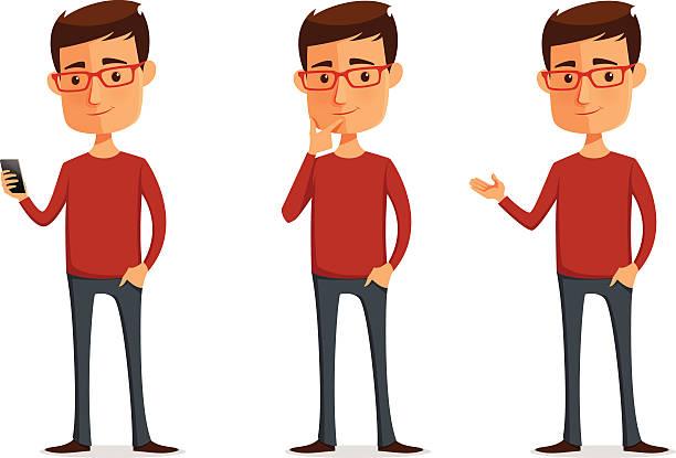 Men clipart thinker Guy Illustration Man Vector Art