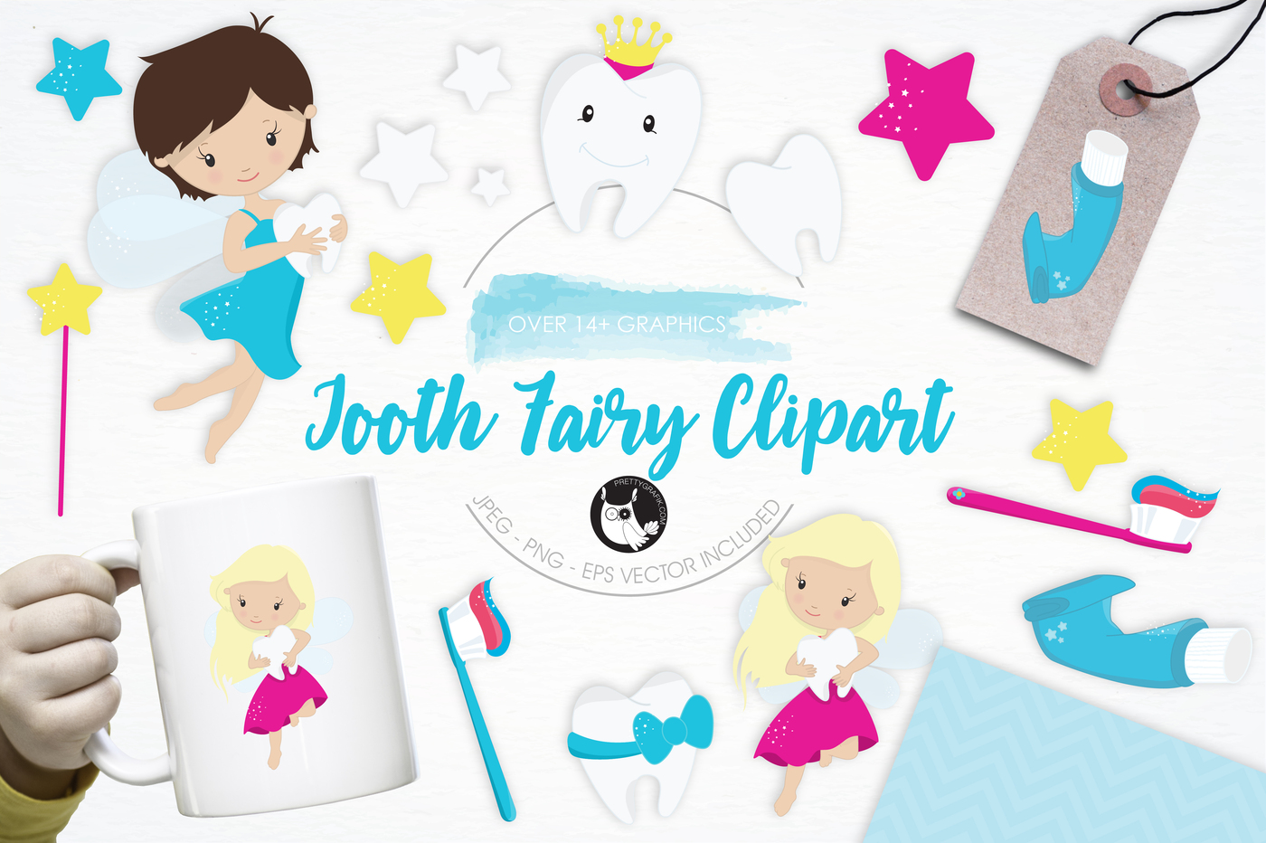 Illustration clipart tooth And Clipart Fairy by com