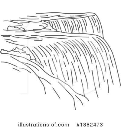 Illustration clipart waterfall Vector Tradition Tradition #1382473 Vector