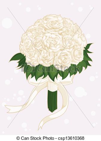 Illustration clipart wedding flower  of image vector Art
