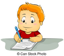 Pen clipart write letter Kid Writing 892 a Writing