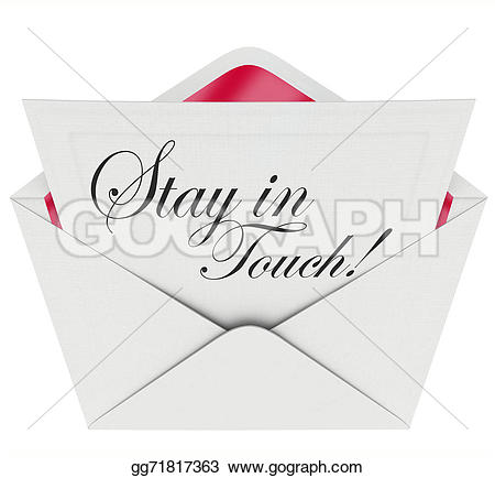 Illustration clipart written communication Clipart formal touch letter words
