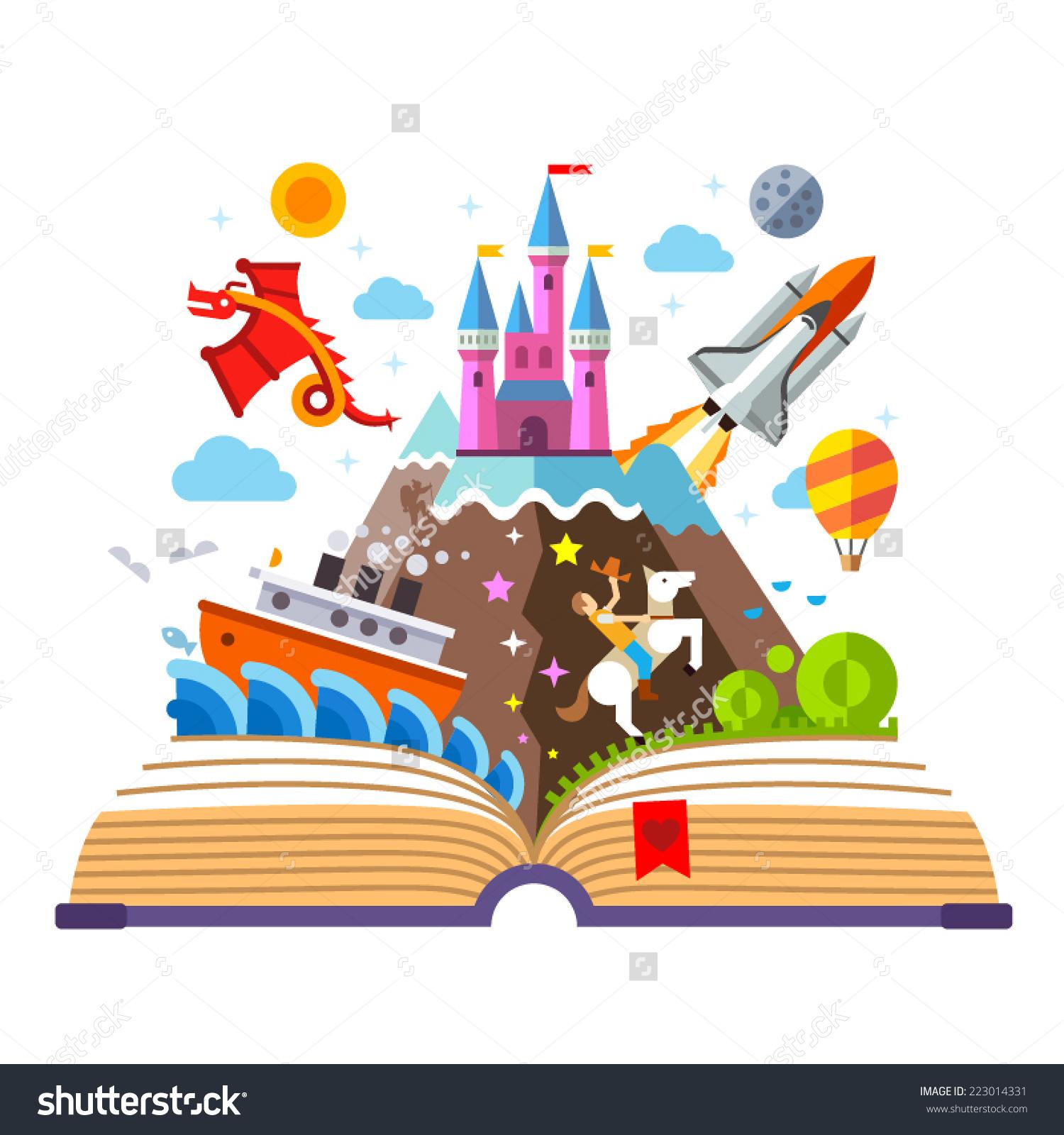 Imagination clipart Clipart 75650 Book Fantasy free