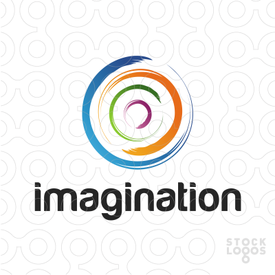 Imagination clipart abstract Circle Logo: StockLogos com Sold