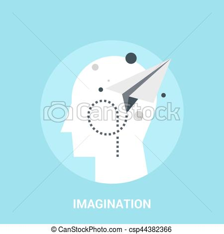 Imagination clipart abstract Vector vector Clip concept Vector