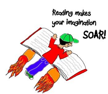Imagination clipart art Reading clipart Imagination imagination art