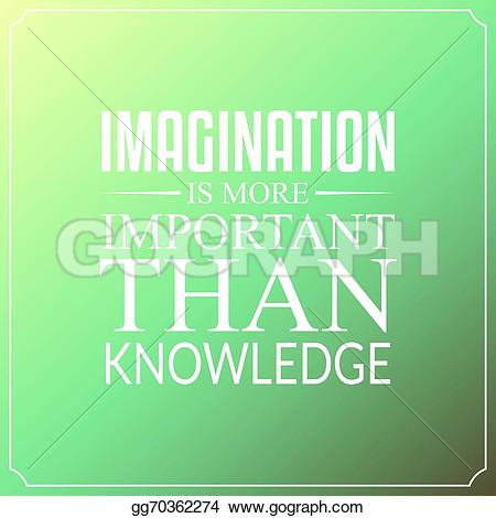 Imagination clipart background EPS knowledge is Illustration than