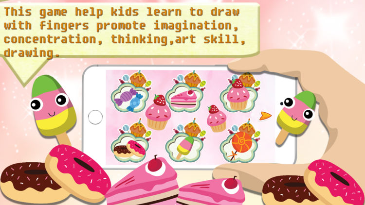 Imagination clipart concentration Bakery sketchbook Candy Paint Candy