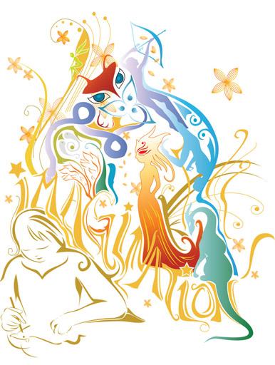Imagination clipart concentration Imagination Weblet Lin's Jing concentration