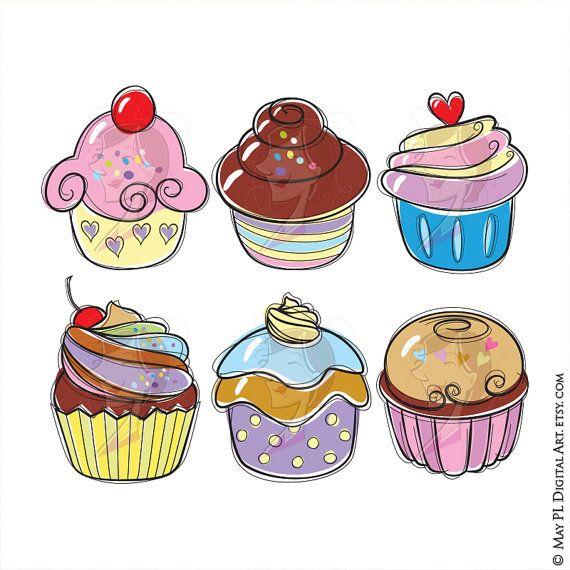 Pl clipart heaven DIY Cupcake images Mini Doodle