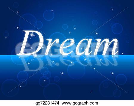 Imagination clipart day dreaming Dream Illustration Stock Dreams gg72231474
