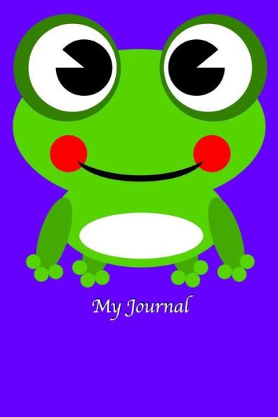 Imagination clipart journal Lined Kid Journal My Blank