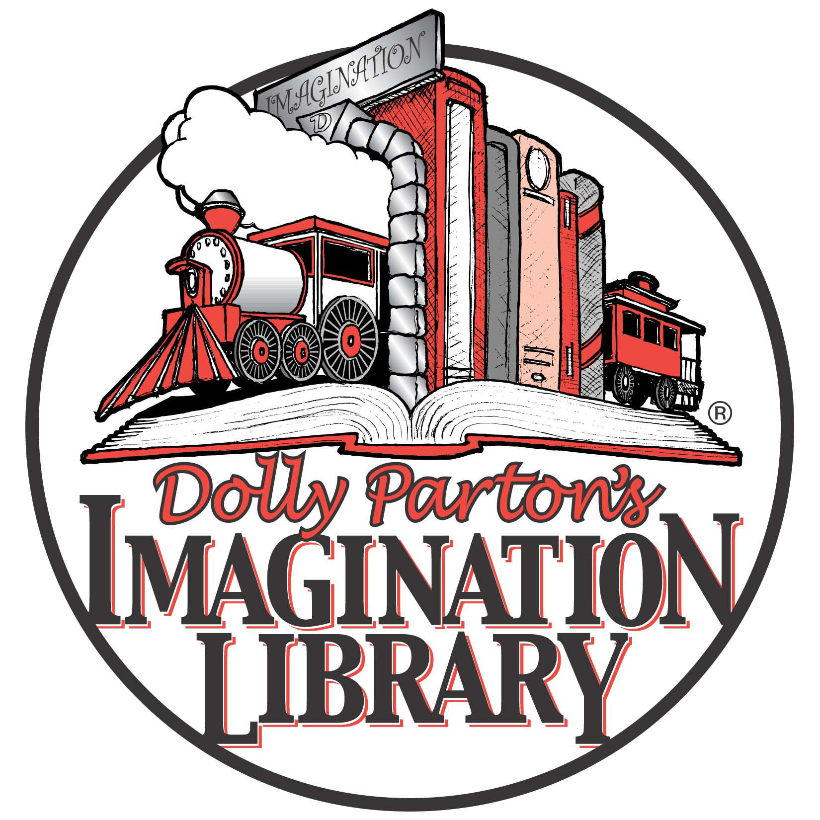 Imagination clipart kid library Library Library Dolly Kids County