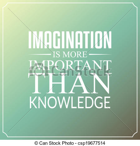 Imagination clipart knowledge Is Clip than more Art