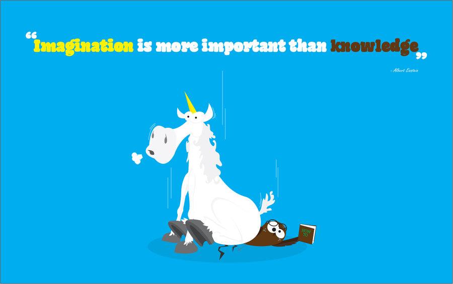Imagination clipart knowledge Vs Knowledge DeviantArt gustavojdc Imagination
