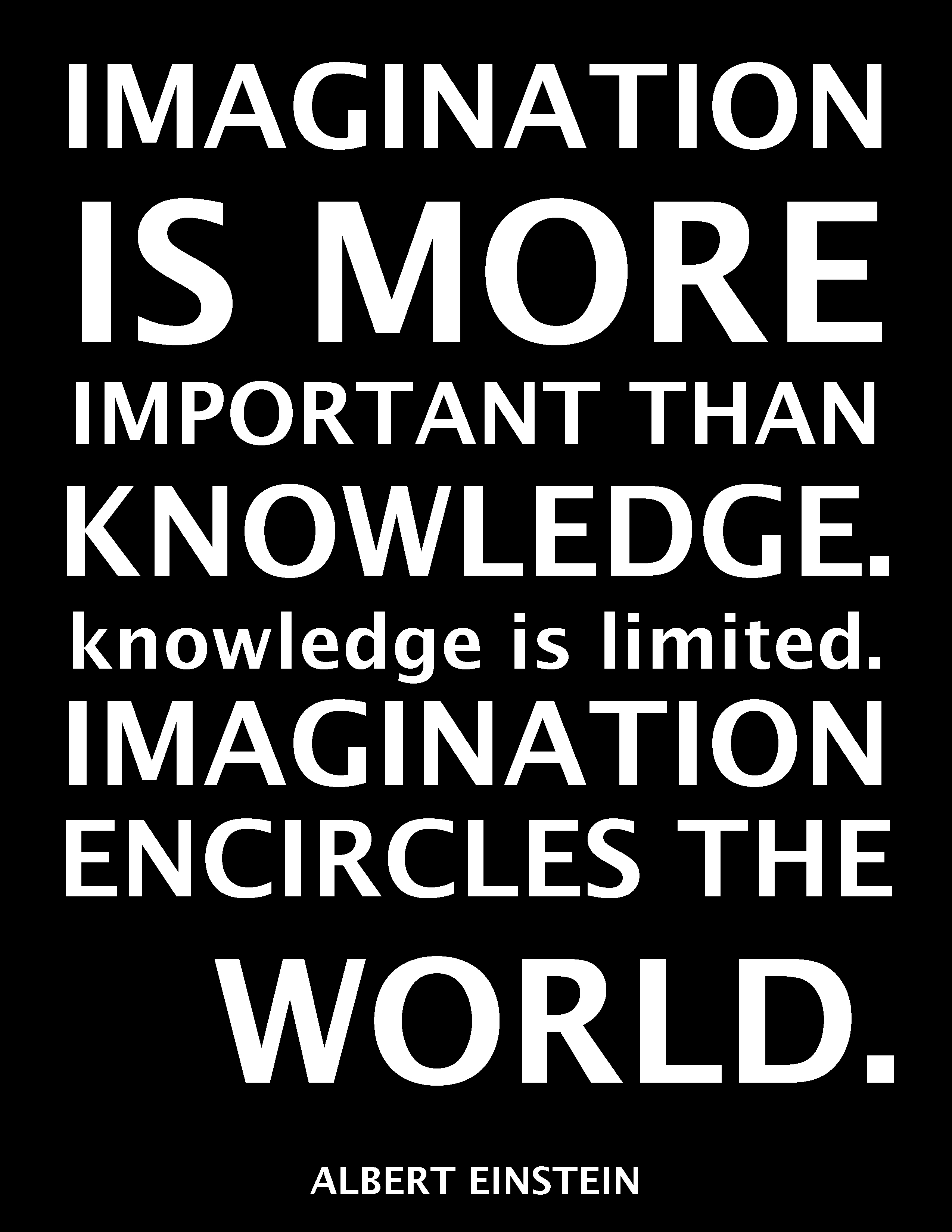 Imagination clipart knowledge Sayings Clip Clipart Einstein Sayings