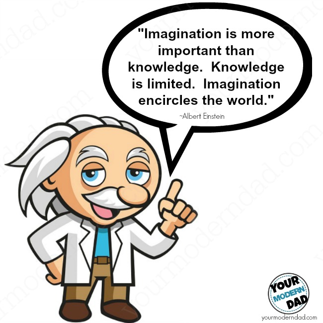 Imagination clipart knowledge Creative especially is him more