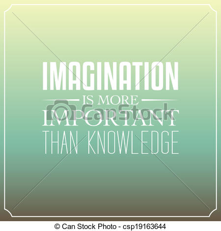 Imagination clipart knowledge Is Vector knowledge important of