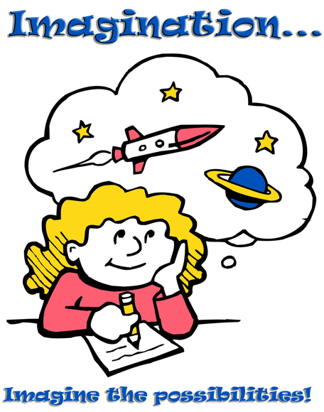 Imagination clipart knowledge WatersFromHeaven: Imagination  important more