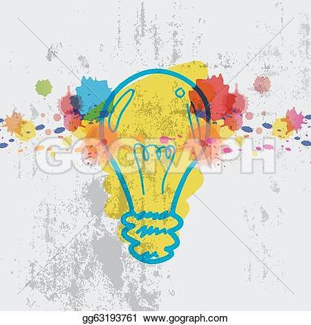Imagination clipart lamp Splash Clipart Stock Illustration gg63193761