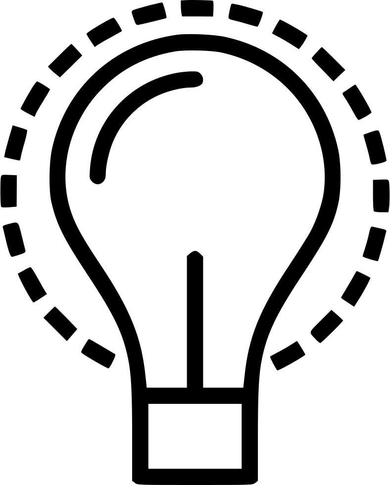 Imagination clipart lamp Svg file Icon Light