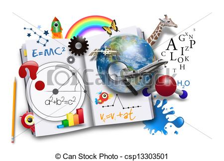 Imagination clipart abstract Open Math Learning Science of
