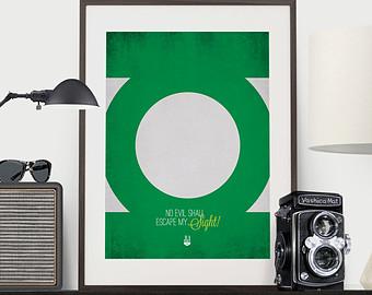 Imagination clipart mad man Print Mad Lantern Green Don