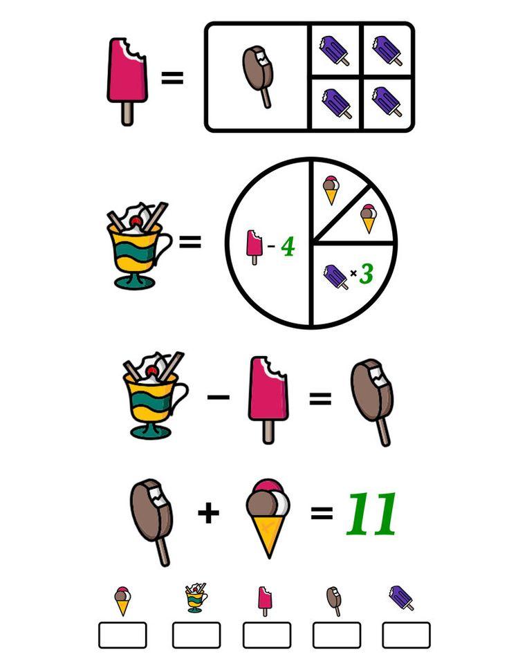 Imagination clipart math brain 25+ Pinterest Math Puzzles? ideas